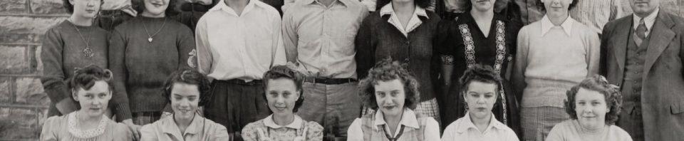 Freshmen 1943-44, Willshire High School Class of 1947