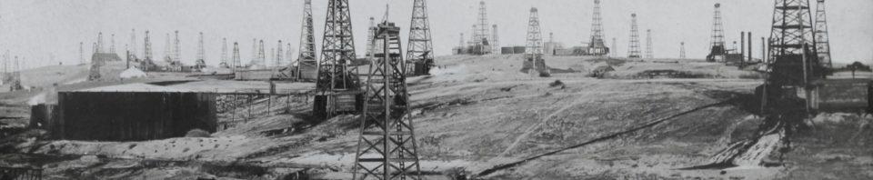 Bakersfield, CA, oilfields.