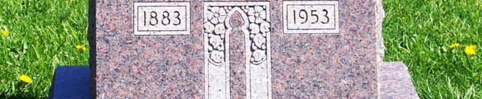 Albert C. Roehm, Zion Lutheran Cemetery, Van Wert County, Ohio. (2012 photo by Karen)