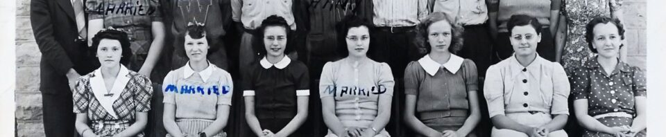 Whillshire High School Juniors, 1941-42.