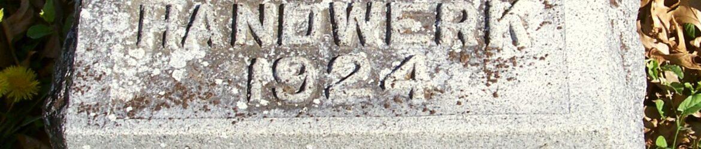 Robert Ivan Handwerk, Zion Lutheran Cemetery, Van Wert County, Ohio. (2012 photo by Karen)