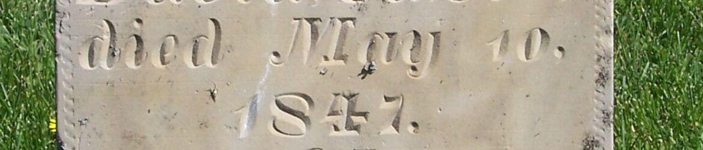 David Casto, Zion Lutheran Cemetery, Van Wert County, Ohio. (2012 photo by Karen)